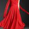 Red flowy classic boutique dress