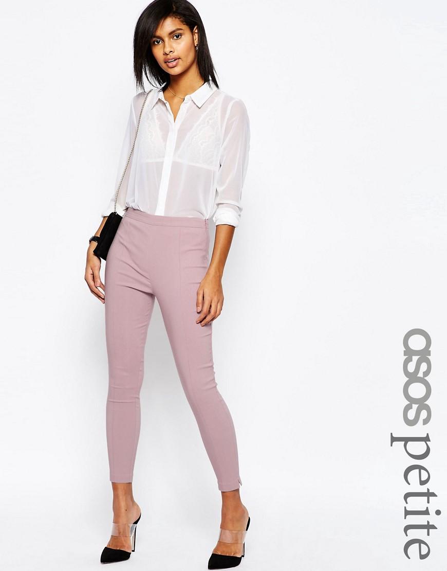 ASOS PETITE Skinny Crop Trouser at asos.com