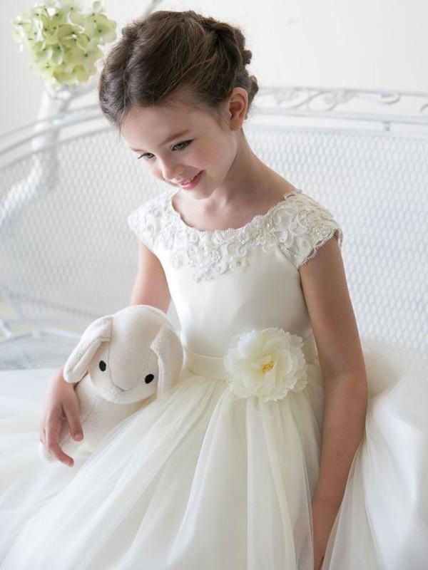 edba6f73efa dress flower girls dresses wedding communion dress birthday flowergirl  wedding yoyobridal.