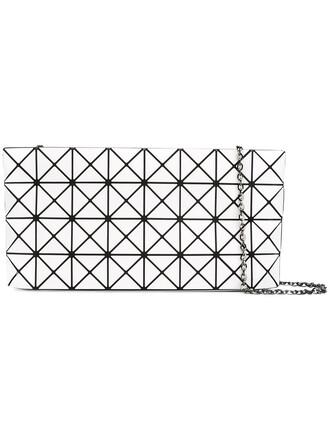 women geometric bag shoulder bag white