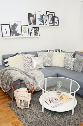 home accessory blanket rug tumblr home decor furniture home furniture table frame pillow grey