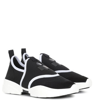 sneakers neoprene black shoes