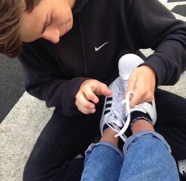 size 40 b6716 d4c77 shoes adidas shoes adidas white black sports shoes fashion style cute tumblr