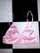 Sweet lord o'mighty! silk kitten skirt in pink