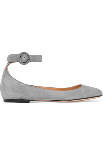 ballet flats ballet flats suede shoes