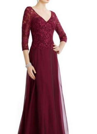 dress prom formal winterball winterformal green burgundy hunter green dress long sleeves lace chiffon homecoming military ball long dress prom dress