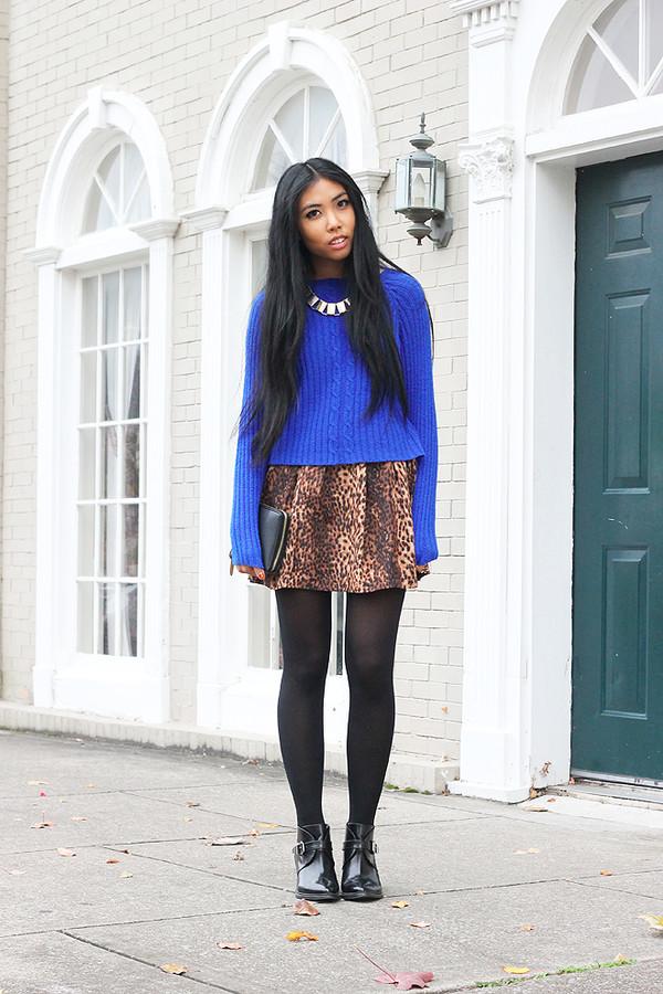 fashion of a novice sweater dress shoes