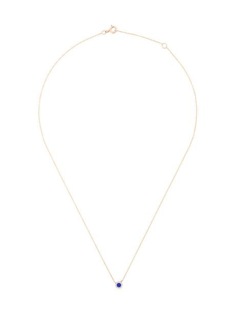 Diane Kordas women necklace gold yellow grey metallic jewels