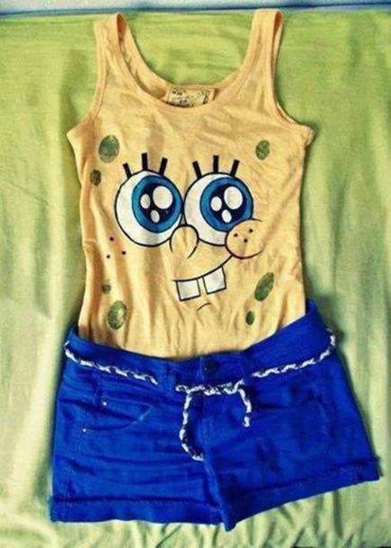 shirt bob sponge t-shirt