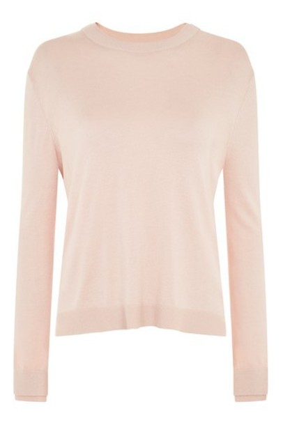 Topshop jumper nude sweater