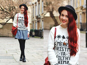 sweater,zaful,christmas,christmas sweater,black friday cyber monday,trendy,girly,pretty,casual,hipster,lookbook