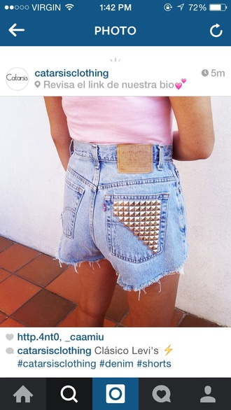 shorts jewels denim shorts high waisted shorts levis shorts
