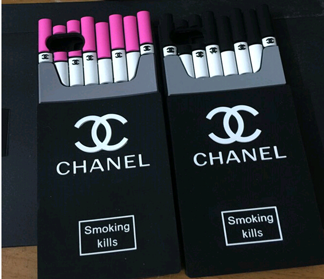Fashion cigarette chanel iphone case iphone 5 5S chanel ...