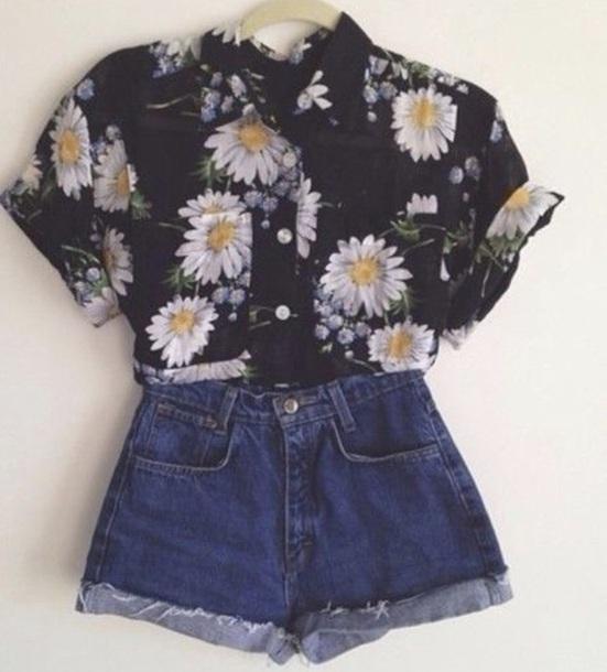 blouse flowerblouse flowers flowershirt shirt