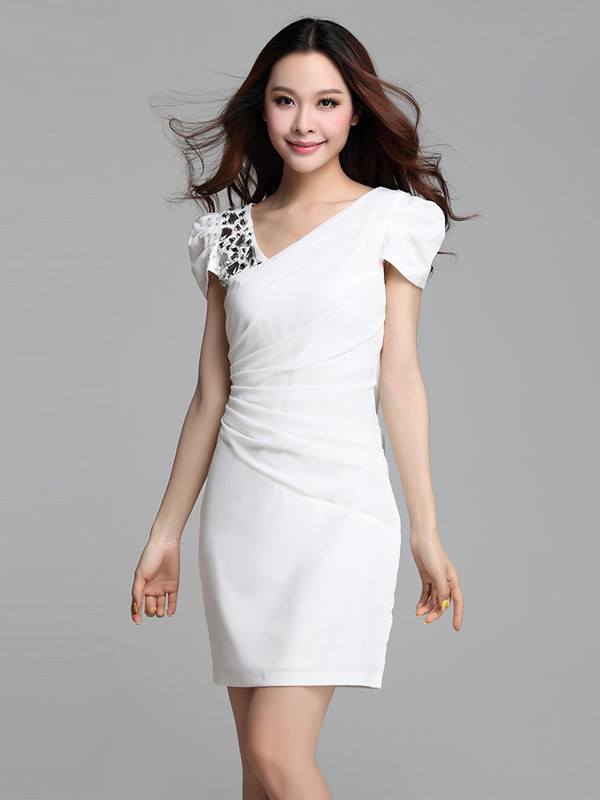 dress white dress girly short dress girly summer dress