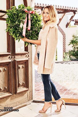 coat editorial lauren conrad blogger sandals fall outfits