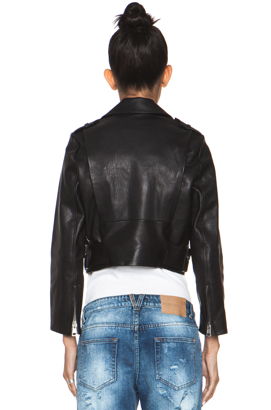 Acne Studios|Mape Leather Jacket in Black