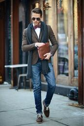 jacket,scarf,i am galla,blogger,mens printed scarf,mens blazer,mens wallet