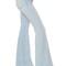 Flared cotton denim jeans