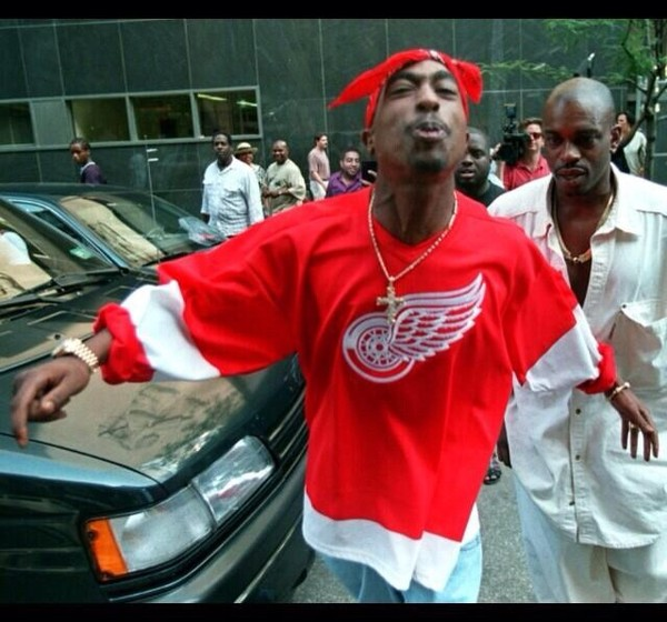 shirt tupac red shirt socks tupac shirt sweater red sweatshirt red sweater