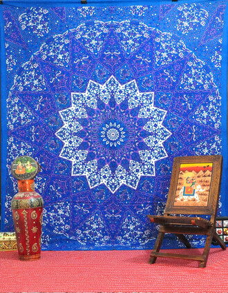 home accessory magical night star mandala tapestry tapestry queen bedcover purple wall decor beach throw queen bedding hippie throw bedding bedcover blanket indian home decor home decorw
