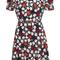 Floral belted mini dress | moda operandi