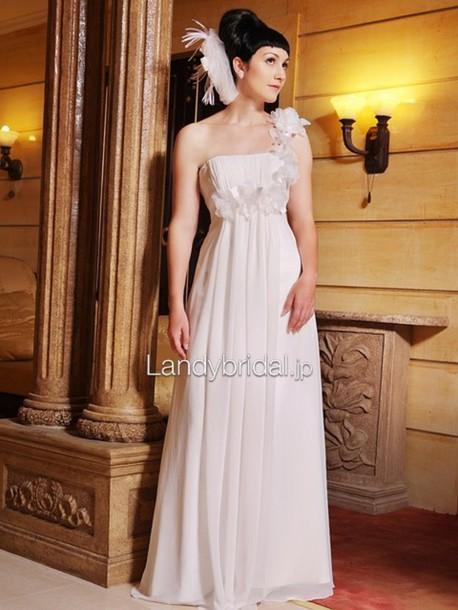 dress ウェディングドレス エンパイアラインのドレス