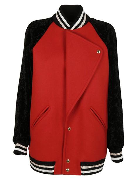lanvin jacket varsity jacket varsity