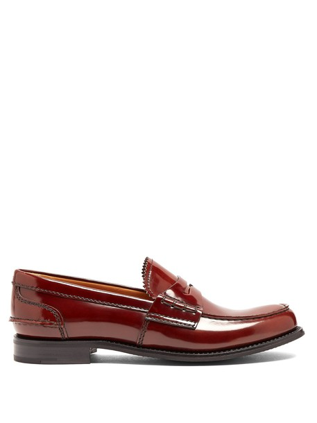 Church's loafers leather brown shoes