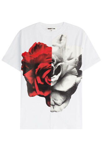 t-shirt shirt cotton t-shirt cotton white top