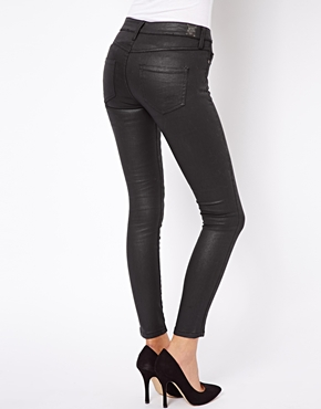 Mango | Mango Coated Skinny Jean at ASOS