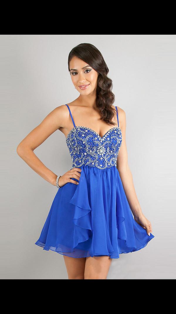 blue dress prom dress dress silver grad dress