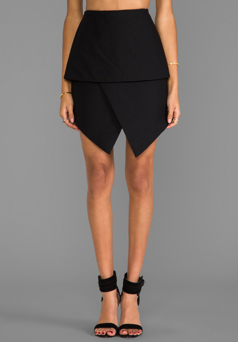 CAMEO New Light Skirt in Black at Revolve Clothing - Free Shipping!