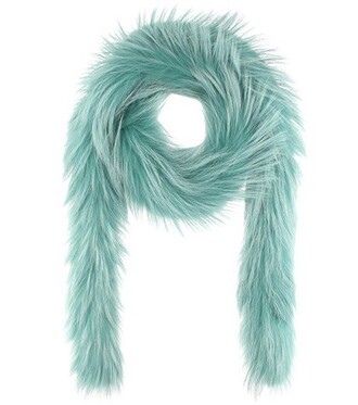 fur scarf fur scarf