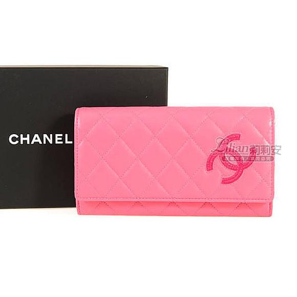 bag chanel wallets pink