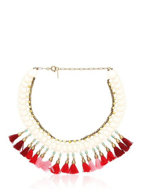 Isabel Marant necklace red jewels