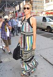 dress,heidi klum