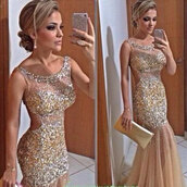 dress,nude evening gown,nude prom dree,nude prom gown,prom gown,prom dress,trumpet mermaid gowns,nude dress,nude gown