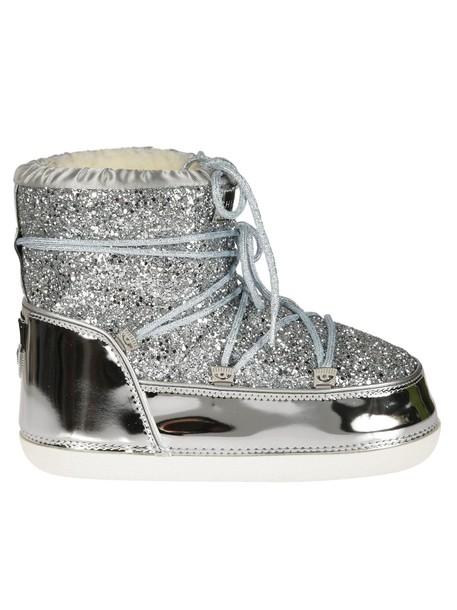 Chiara Ferragni snow boots snow shoes