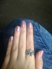 jewels,ring,jewelry,bow,bow ring,silver ring,pretty,pretty rings,pink,princess ring,pandora,tiara ring,rings silver,diamonte