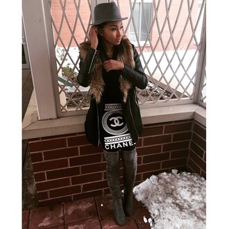 skirt chicmeboutique style chanel trendy trend trends 2015 trends fashion chic shirt