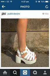shoes,heels,white,wedges,closed toe,fashion