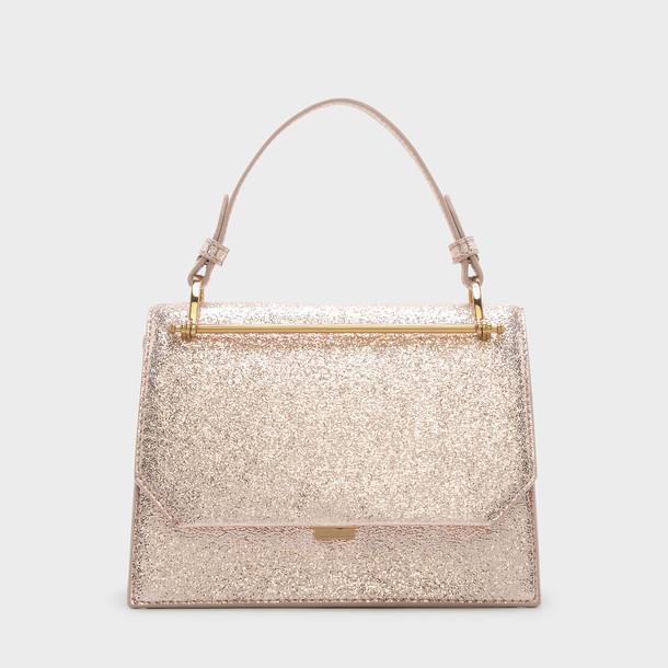 handbag gold bag