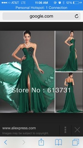 dress,emerald green,mermaid prom dress,sweetheart dress,long dress