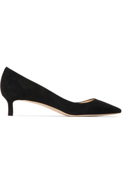 Jimmy Choo suede pumps pumps suede black shoes
