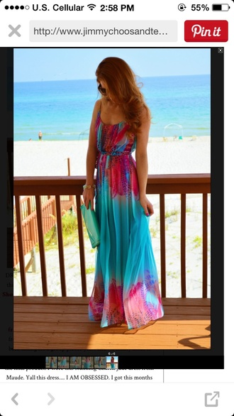 dress colorful fun summer large
