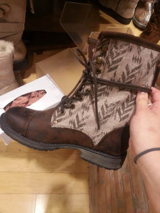 shoes boots combat boots tribal pattern pattern