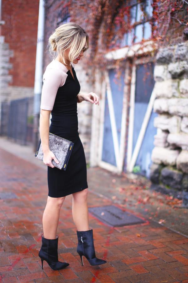 happily grey jacket dress shoes bag jewels