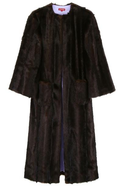 STAUD Marcel Coat in brown