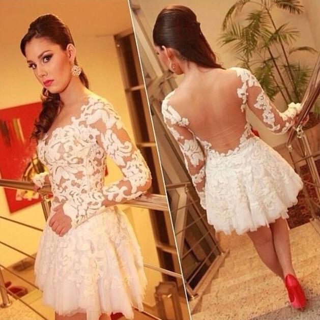 Loria lace dress